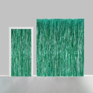 Globos Nordic Dørgardin, Grønn - Grønn fargetema
