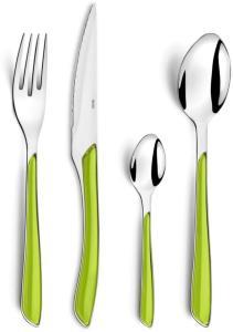 Amefa Bestikksett 24 stk Eclat grønn