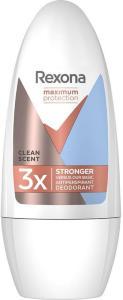 Women Maximum Protection Roll-on Clean Scent, 50 ml Rexona Deodorant Rexona
