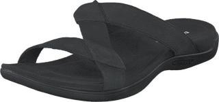 Merrell District Kanyoa Slide Black, Sko, Sandaler og Tøfler, Flate sandaler, Svart, Dame, 39
