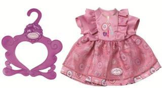 Baby Annabell day dress  43 cm - lilla kjole til dukke