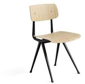 HAY Stol Result Chair, Farge: Mattlakkert Eik, Understell