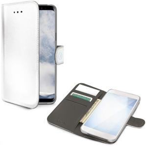Celly Wallet Case for Samsung Galaxy S10 Plus - Vit