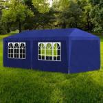 vidaXL Festtelt 3x6 m blå