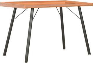 vidaXL Skrivebord brun 90x50x79 cm