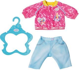 BABY Born Sister antrekk - jersey og bukse til dukke 43 cm