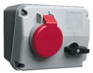 ABB Switched interlocked socket-outlet 6h 32a ip44 3p+n+e 43 2CMA167686R1000