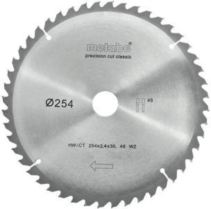 Sagblad for tre Metabo Classic Ø254 mm