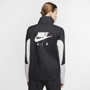 Nike Air løpejakke med hel glidelås til dame - Black S