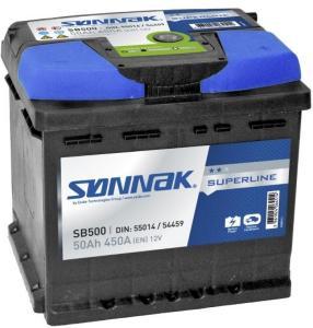 Sønnak Bilbatteri superline SB500