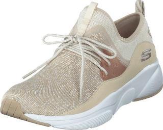 Skechers Womens Meridian Nat, Sko, Sneakers og Treningssko, Sneakers, Beige, Dame, 37