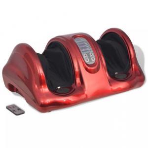 Shiatsu fotmassasje-apparat - rød