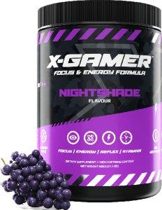 X-GAMER X-Tubz - Nightshade Servings 60 (600g)   AB5Z3F
