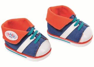 BABY Born Cool Sneakers - blå sko til dukke 43 cm