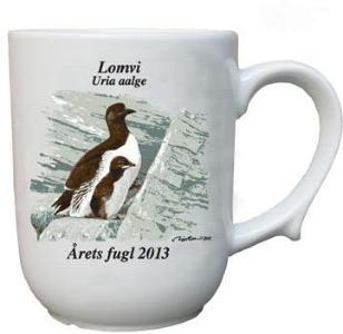 Lomvi krus Årets fugl 2013