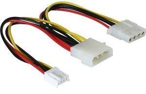 DELOCK - Power adapter - 4 pin internal power (M)  (82111)