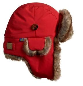 Isbjörn Squirrel Winter Cap Love (#D3222E) 48/50cm