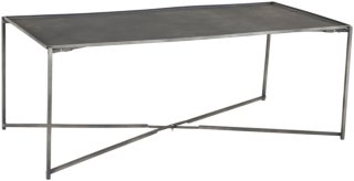 Ellos Sofabord Geo 60x120 cm Unisex Betonggrå
