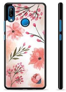 Huawei P20 Lite Beskyttelsesdeksel - Rosa Blomster