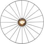 Globen lighting Plafond-/vegglampe Wheel Unisex Svart