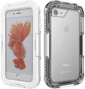 iPhone 7/8/SE (2020) Vanntett Mobilpose - Hvit