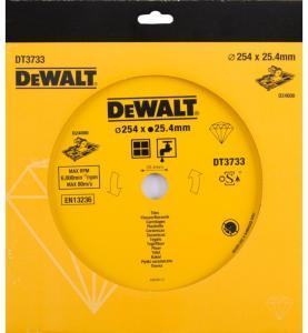 Diamantkappeskive DeWalt 254 mm