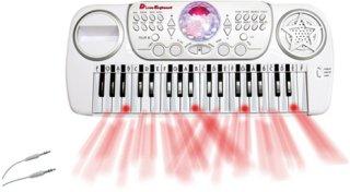 Music Keyboard med krakk Musikkinstrumenter Ellos.no