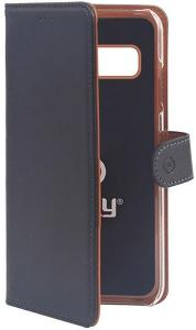 Celly Wallet Case for Samsung Galaxy S10 Plus - Svart