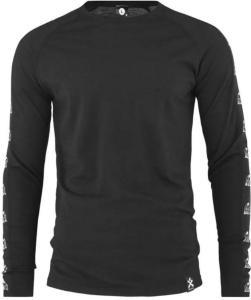Bula Tape Merino Wool - Trøye - Svart - L (720727-BLACK-L)
