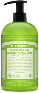 Lemongrass Lime Organic Sugar Soap 709 ml Dr. Bronner's