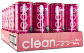Clean Drink 24 x Hallon/Smultron 330ml