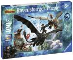 Ravensburger Puzzle, Dragons: The hidden world, 100 pieces