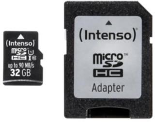 Intenso Micro SD 32GB UHS-I Professional 4034303022335 Tilsvarer: N/A Intenso
