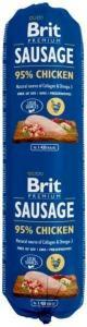 Brit pølse med kylling 800g