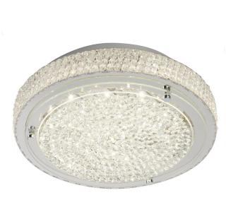 Flush Taklampe LED Flush Crystal Center Deco - Searchlight