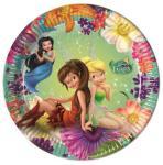Disney Fairies Papptallerkener, medium (20cm) 8stk (126-85243)