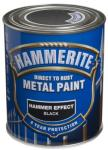 HAMMERITE METALLMALING HAMMER EFFECT SORT 750ML