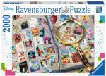 Disney Stamps 2000 biter Puslespill Ravensburger Puzzle
