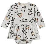 The Bonnie Mob Penny Dress Baby Body Grey 0-3 mnd