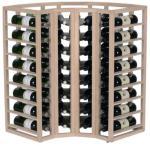 Moldow Wineracks Moldow - CORNERRACK - 56 flasker Eik (normalt på lager)