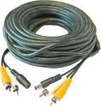 20m kabel, forlengelse til fuglekassekamera