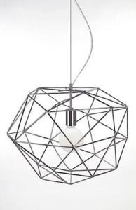 Globen Lighting Pendel Diamond Krom