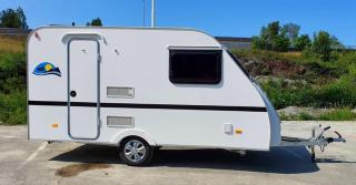 Norgeshengern Quattro - Campingvogn med toalett og køyer