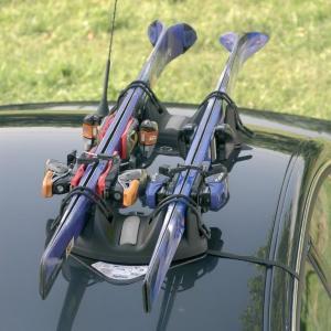 Magnetisk skiholder - 2 par ski