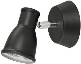 Spotlight Svart Gu10 Vegglampe Oriva