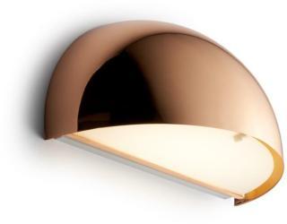 Rørhat Vegglampe 2x9W G23 Blank Kobber - LIGHT-POINT