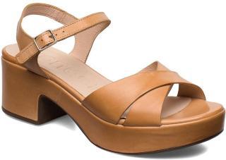 Wonders D-8801 Sandal Med Hæl Brun Wonders Women