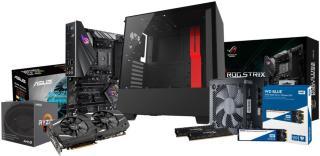 Edge DIY stasjonær gaming PC gjør det selv sett (Intel2060