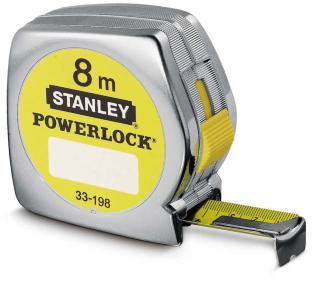 Stanley målebånd Powerlock 0-33-198 8 meter