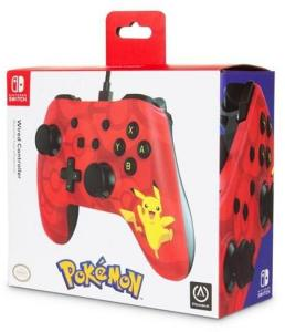 Power A Nintendo Switch Wired Controller Pikachu - Gamepad - Nintendo Switch 0617885020001